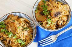Kitchen Stories: Mushroom Rice Pilaf