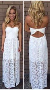 Vestidos brancos tomara que caia longos