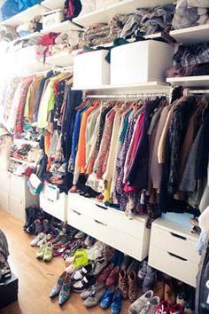 Are you surprised Susie Bubble's closet looks like this? http://thecoveteur.com/Aurelie_Bidermann