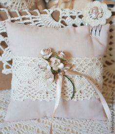 398 best Sewing: Wedding Ring Pillow Ideas images on Pinterest ...