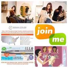 For my Hair Stylists/Salon Owners These are just a few reasons Rodan+ Fields (the doctors that created Proactiv) Clinically Proven Skincare makes sense for you... 1. You already have an established client base 2. You can advertise right from your chair 3. There is NO inventory! Everything is done ONLINE 4. You are providing cuts, color, styling, waxing, nail care etc. .... All that is missing is the best skincare on the market awoolf.myrandf.biz