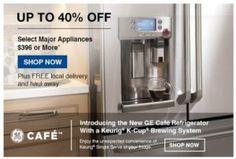 Lowe's Appliance Sale 40% Off!
