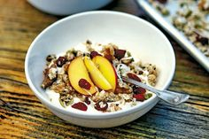 Your New Breakfast Go To Malibu Farms Coconut Granola - The Former Pop Up Cafe Is Now A Permanent Staple Of The Malibu Food Scene We Asked Her To Share A Recipe From Her New Malibu Farm Cookbook Recipes From The California Coast Malibu California We Muesli, Granola, Malibu Farm, Vegetarian Recipes, Healthy Recipes, Diet Recipes, Healthy Cooking, Healthy Eats, Healthy Foods