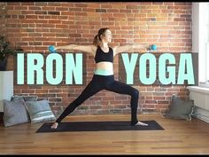 nice Iron Yoga - Yoga with Weights Power Sculpt & Toning