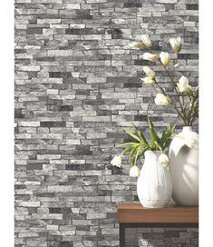 Slate Stone Wallpaper Grey P+S 05546-30