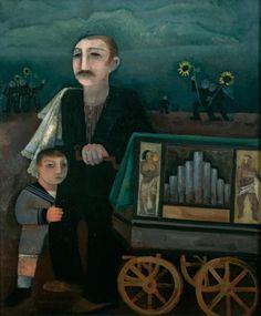 Felix Nussbaum  The Hurgy-Gurgy Man, 1931