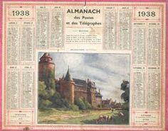 Almanach des postes et des télégraphes de 1938