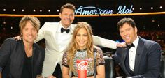 Say goodbye to those giant Coke cups at the American Idol judges' table. When the Fox show returns for its season on Jan. it will be without its longtime sponsor, Coca-Cola. The soft drink company has ended its relationship with the show after 13 seasons. American Idol Judges, Singing Competitions, Best Dj, Book Tv, Wedding Dj, Best Shows Ever, Coca Cola, Tv Series, Tv Shows