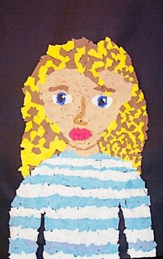 Mosaic Self-Portraits - Artsonia Lesson Plan