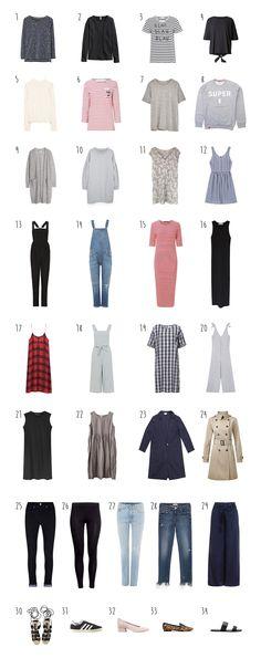 People Tree. Blah Blah Stripe Tee. Alana Jumpsuit. Mixed Check Dress. Susie Trousers. SS17. www.peopletree.co.uk