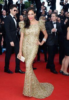 Cannes Film Festival Fashion: Rosario Dawson