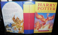 K Rowling. Harry Potter and the Order Of The Phoenix. Publication Date : Another Collectable Book Listed By River Bank Books. Harry Potter Books, Book Lists, Violin, Nonfiction, Hogwarts, Phoenix, Bloom, Author, Illustration