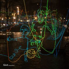 https://flic.kr/p/CnnJPJ | Paths Crossing | created by Ralf Westerhof #amsterdamlightfestival