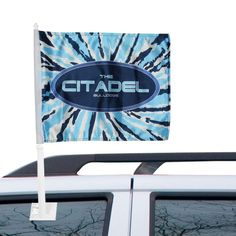 Citadel Bulldogs Pattern Car Flag
