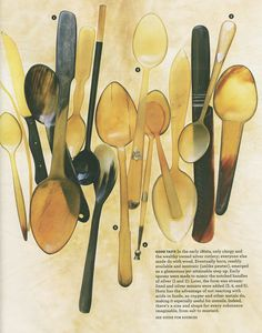 horn utensils...excuse me!!!!