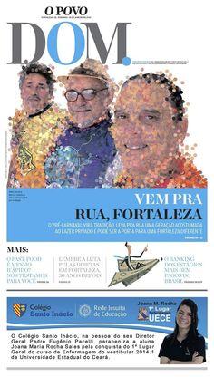 Foto montagem pro Caderno DOM do Jornal O POVO (tema figuras do carnaval)