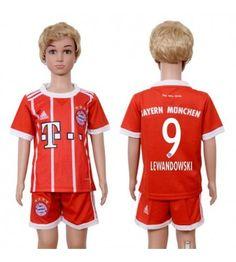 Bayern Munchen James Home Kid Soccer Club Jersey Robert Lewandowski, James Rodriguez, Neymar, Messi, Thomas Muller, Kids Soccer, Ronaldo, Arm, Munich
