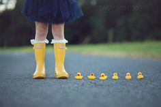 rain boots + ducks (must do this with Z)