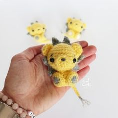 little lion free crochet pattern
