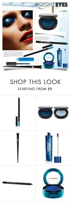 """""""Turn Around, Bright Eyes"""" by louise-frierson ❤ liked on Polyvore featuring beauty, Oris, NARS Cosmetics, FACE Stockholm, Kat Von D, Lipstick Queen, MAC Cosmetics and brighteyes"""