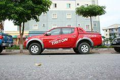 Nắp thùng thấp xe bán tải Triton