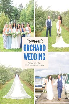 Romantic Orchard Wed