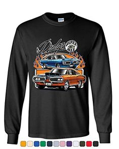 Dodge Super Bee Long Sleeve T-Shirt American Classic Muscle Car Tee Dodge Super Bee, Vintage Tees, Crew Neck Sweatshirt, Hooded Sweatshirts, Long Sleeve Shirts, T Shirts For Women, American, Classic, Sleeves