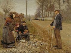 CAMINO RURAL. Hans Andersen Brendekilde (Dinamarca, 1857-1942).