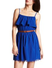 Show your Drake pride in the summer with a cute blue sundress!
