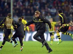 Jürgen Klopp ließ nach dem Schlusspfiff seinen Emotionen freien Lauf. (Foto: Federico Gambarini/dpa)