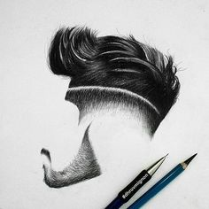 Hair styles. By the talented @dhruvmignon. Awesome Hair texture achieved here. Shared by @shatter_the_skies