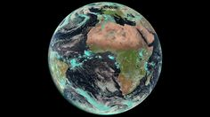 Earth seen by Meteosat launched as in April ESA Earth Day Images, Earth Photos, Cosmos, Awsome Pictures, Sky Watch, Happy Earth, High Hopes, Space And Astronomy, Earth From Space