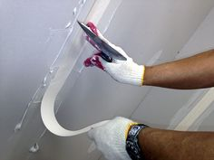 home repairs,home maintenance,home remodeling,home renovation Fixing Drywall, Drywall Finishing, Drywall Tape, Drywall Mud, Drywall Repair, Panneau Mural Tv, Home Renovation, Drywall Corners, Hanging Drywall