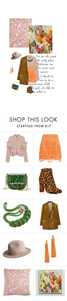 """""""#796"""" by joktojotta ❤ liked on Polyvore featuring Mulberry, House of Holland, Gucci, Raye, MANGO, Kenneth Jay Lane, Charter Club and Ballard Designs"""
