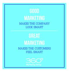 43. Good #Marketing Makes The Company Look Smart Great Marketing Makes The Customers Feel Smart