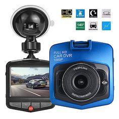 "2.4/"" HD 1080P Car DVR LCD CCTV Dash Camera Night Vision Recorder Blue"