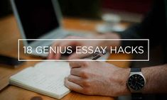 Easy essay writing student 18 Simple Essay Hacks Every Student Needs To Know Essay Writing Help, Persuasive Essays, Argumentative Essay, Teaching Writing, Easy Essay, Academic Writers, Study Skills, Study Tips, College Life