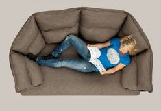 my new sofa crush • enveloppe sofa • inga sempé for lk hjelle • via design milk