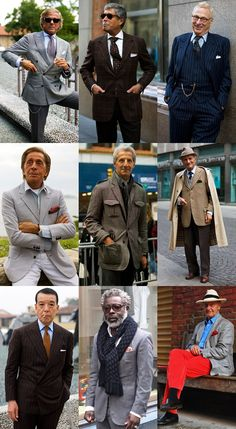Sorry guys, you must have thought I'd forgotten you !  Men's 60 Plus Style Lookbook