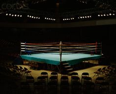 Image result for underground boxing ring