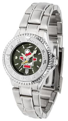 Ladies Youngstown State Penguins - Competitor Steel AnoChrome Watch