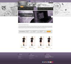 Maquette refonte site dreamcatchers.fr - creer un site web pour produits deco et mode