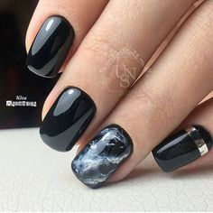 2019 Summer Square Nails Color Design - Chicbetter Inspiration for Modern Women : 2019 Summer Square Nails Color Design - Chicbetter Inspiration for Modern Women Dark Nail Designs, Colorful Nail Designs, Nail Art Designs, Nails Design, Trendy Nails, Cute Nails, Marmor Nails, Dark Nails, New Nail Art
