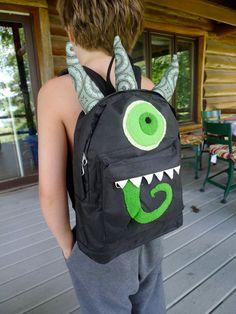 NEKKO Monsterpak - mini Monster Backpack. $42.00, via Etsy.