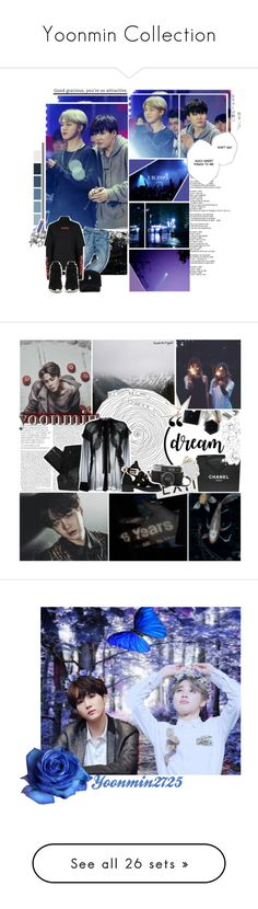 """""""Yoonmin Collection"""" by aurora-lynn-love ❤ liked on Polyvore featuring Topman, Old Navy, Stolen Girlfriends Club, Uttermost, Chanel, Givenchy, Balenciaga, H&M, art and bts"""