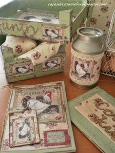 1000 images about scrap en muebles on pinterest scrap - Cajas para cocina ...