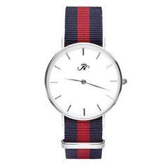 Midland - Silver Timepiece with NATO Strap – Joseph Nogucci