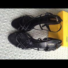 Sandal once worn Fendi FENDI Shoes Sandals