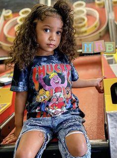 Black Baby Girls, Cute Black Babies, Cute Young Girl, Cute Little Girls Outfits, Toddler Girl Outfits, Kids Outfits, Mix Baby Girl, Cute Baby Girl, Cute Kids Fashion