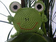 Вяжем тактильную игрушку «Лягушку» - Ярмарка Мастеров - ручная работа, handmade